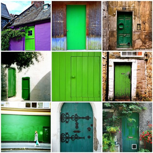Mosaic_Green Doors